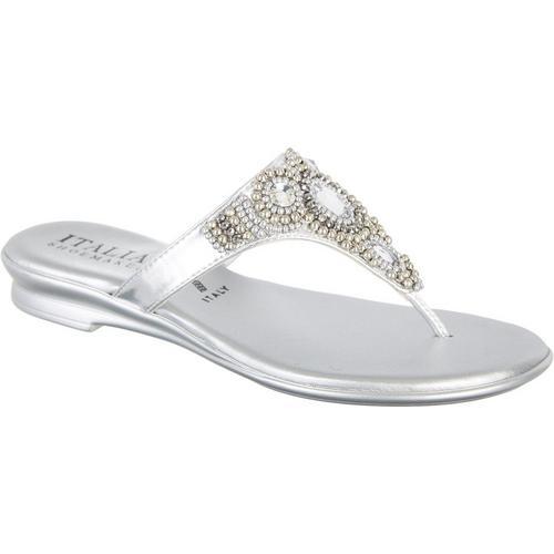 ef25647ac63da Italian Shoemakers Womens Mystify Jeweled Sandals