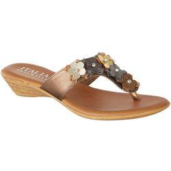 Italian Shoemakers Womens Lia Thong Dress Sandals