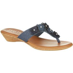 Italian Shoemakers Womens Lia Thong Dress Sandals