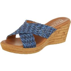 Italian Shoemakers Womens Cork Sandal