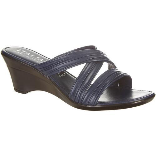 58d3c6e66482 Italian Shoemakers Womens Cruise Wedge Sandals