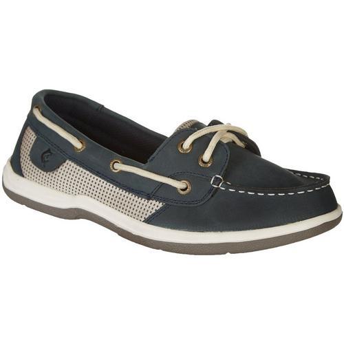 99a08a9815db Reel Legends Womens Sanibel Boat Shoes