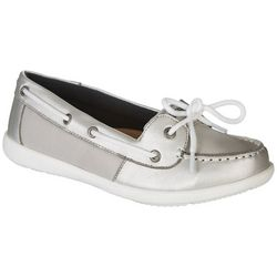 Reel Legends Womens Metallic Captiva Boat Shoes