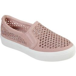 Skechers Womens Poppy Diamond Gal Shoes