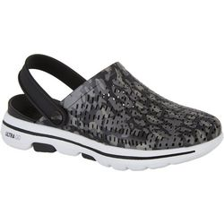 Skechers Womens Go Walk Untamed Clogs