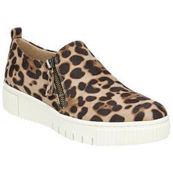 Womens Turner Cheetah Sneakers
