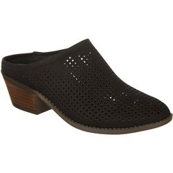 Me Too Womans Zara Perforated Mules