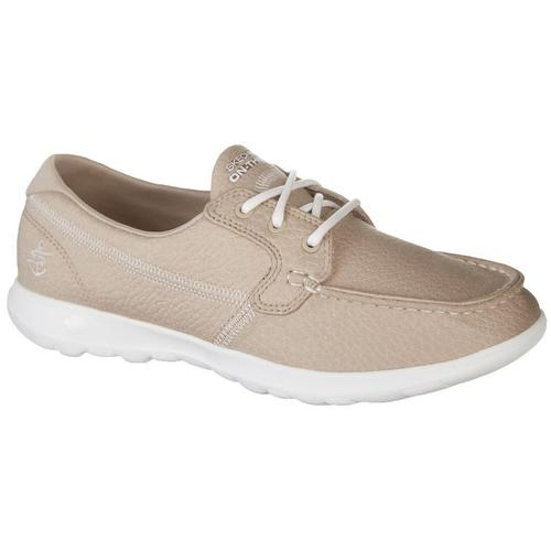 Skechers Womens GOwalk Lite Eclipse Boat Shoes