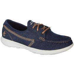 Skechers Womens GOwalk Lite Shore Boat Shoes