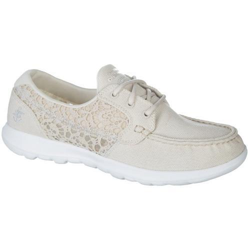 36d5710f02 Skechers Womens GOwalk Lite Mira Boat Shoes