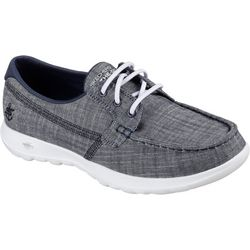 Skechers Womens GOwalk Isla Boat Shoes