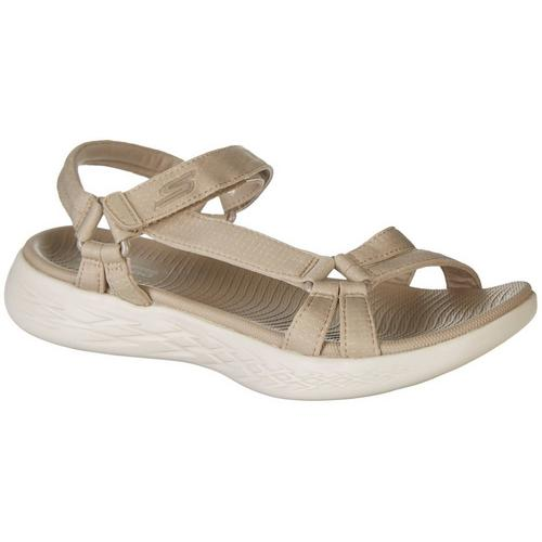 f6c0a520a46 Skechers Womens On The Go 600 Brilliancy Sandals