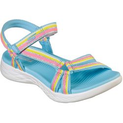 Skechers Womens On The GO 600 Sunray Sandals