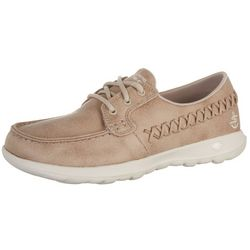 Skechers Womens GOwalk Lite Del Mar Boat Shoes