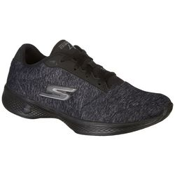 Skechers Womens GOwalk 4 Serenity Athletic Shoes