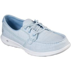Skechers Womens GOwalk Lite Bay Boat Shoes