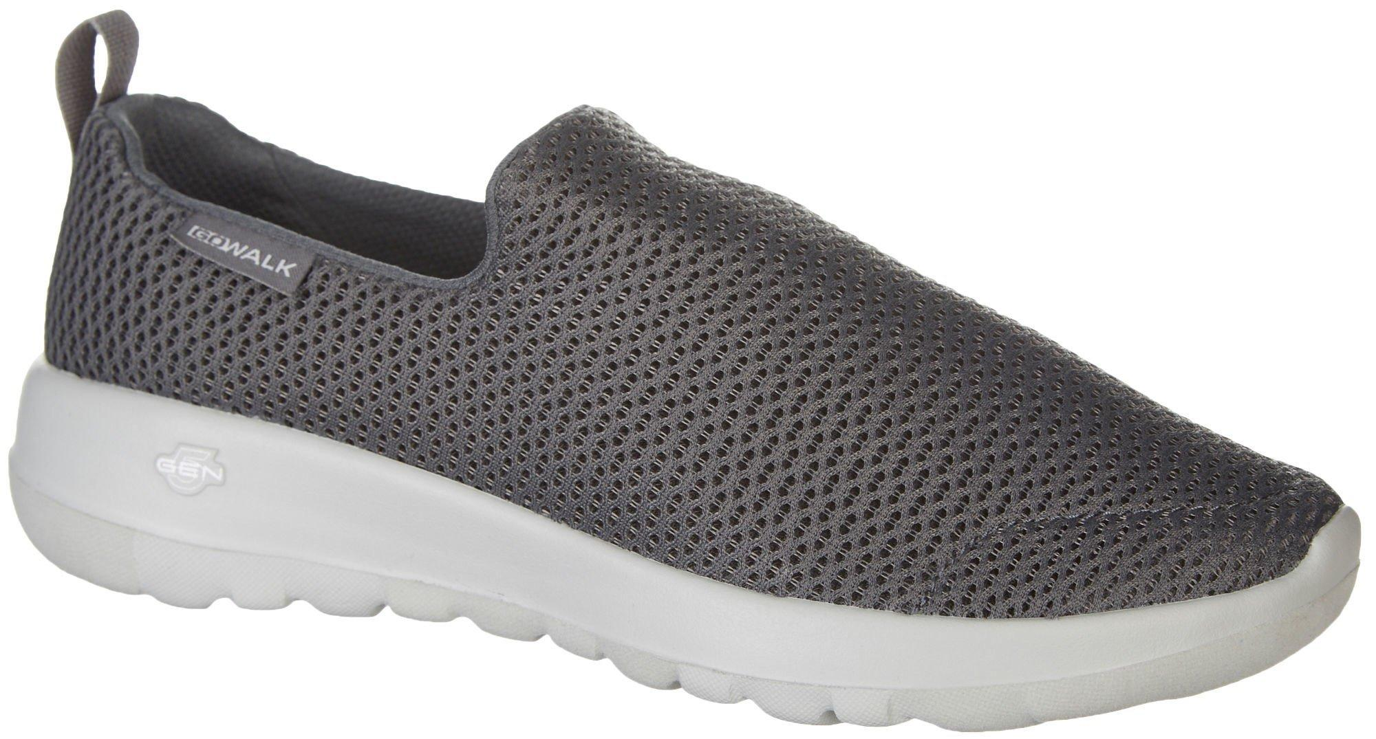 skechers slip on athletic shoes