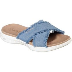 Skechers Womens On The GO Luxe Freebird Sandals