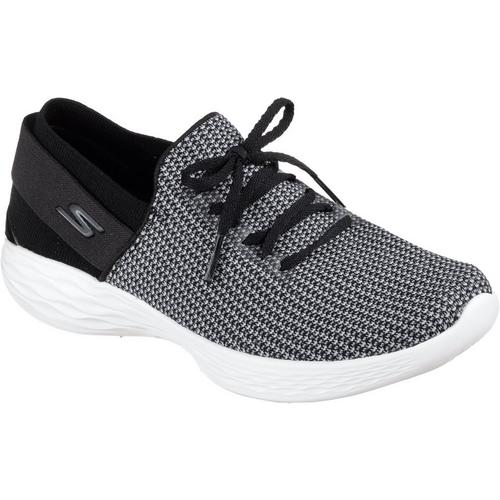 6131099fc076 Skechers Womens YOU Uplift Athletic Shoes
