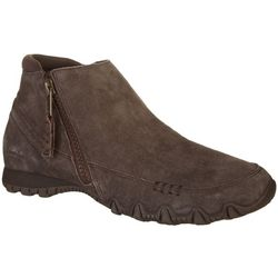 Skechers Womens Bikers Zippiest Boots