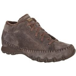Skechers Womens Bikers Totem Pole Relaxed Shoes