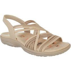 Skechers Womens Reggae Slim Simply Stretch Sandals