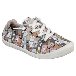 Skechers Womens BOBS Dogs House Party Shoes