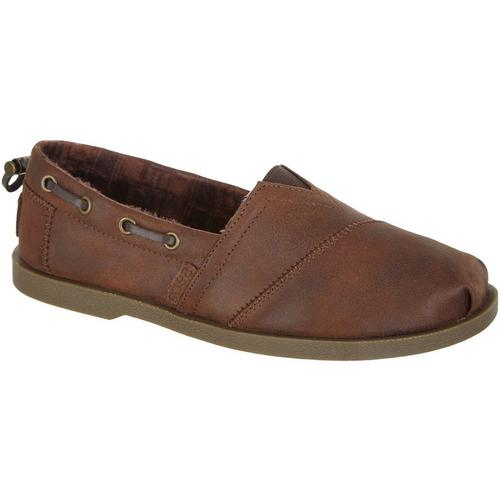 8fd26b83bd6 Skechers Womens Chill Luxe Buttoned Up Loafers