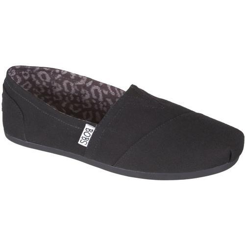 d17c3229e854 Skechers Womens Bobs Peace Slip On Loafers