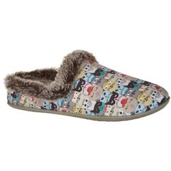 Skechers Womens BOBS Scratch Nap Clogs