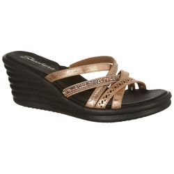 Skechers Womens Rumblers Wave Sandals