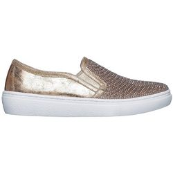 Skechers Womens Diamond Wishes Slip On Shoes