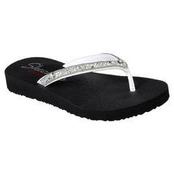 Skechers Womens Meditation-Tahiti Sole Flip Flops