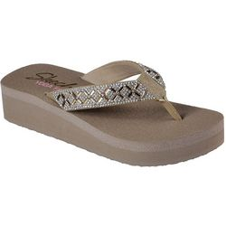Skechers Womens Lotus Princess Flip Flops