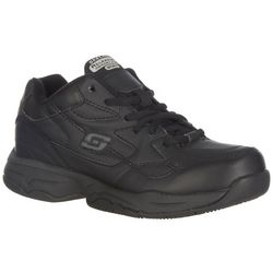 Skechers Womens Felton Slip Resistant Shoes