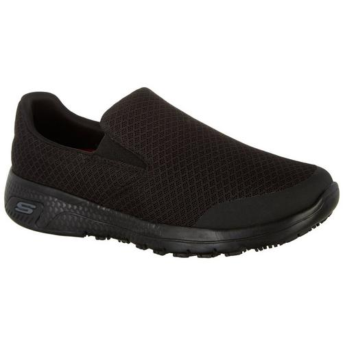 Skechers Womens Non Slip Marsing Work Shoes