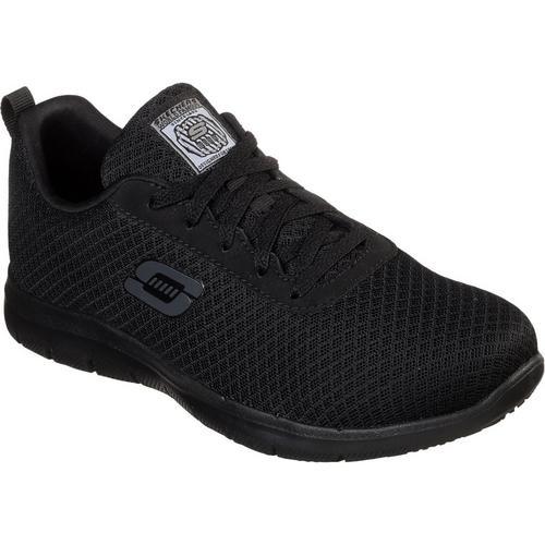 Skechers Womens Bronaugh Slip Resistant Work Shoes  b8d1a96ecb