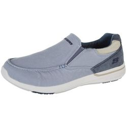 Skechers Mens Elent Olution Slip On Loafers