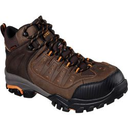 Skechers Mens Lakehead Waterproof Steel Toe Work Boots