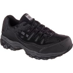 Skechers Mens 77055 Cankton Work Shoes