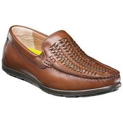 Florsheim Mens Draft Moc Toe Woven Driver Shoes