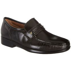 French Shriner Mens Leather Loafers