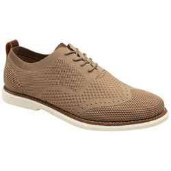 Bill Blass Mens Fly Knit Oxford Shoes