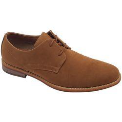 Bill Blass Mens Buckthorn Suede Oxford Shoes