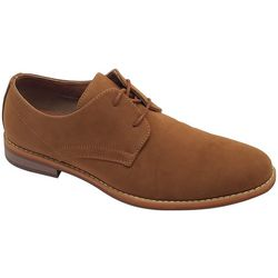 Bill Blass Mens Buckthorn Suede Oxford Shoes