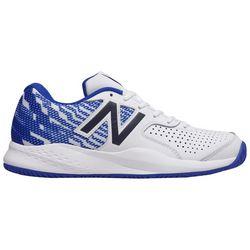 New Balance Mens 696 Blue Graphic Tennis Shoes