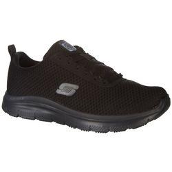 Skechers Mens Bendon Work Shoes