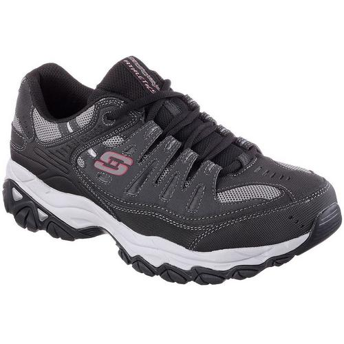 skechers mens tennis shoes with memory foam