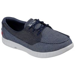 Skechers Mens On The Go Glide Coastline Boat Shoes