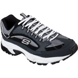 Skechers Mens Stamina Cutback Athletic Shoes